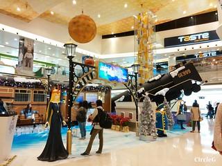 將軍澳 坑口 東港城 HONGKONG 松本零士 幻想時空 2015 CIRCLEG 聖誕裝飾 (1)