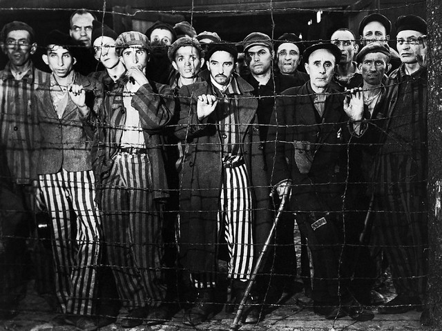 margaret bourke white 07 survivors-gaze-at-photographer-margaret-bourke-white-and-rescuers-from-the-united-states-third-army-during-the-liberation-of-buchenwald-april-1945