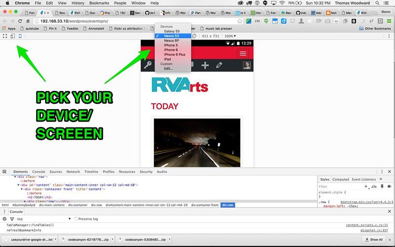 Google Canary Mobile Views