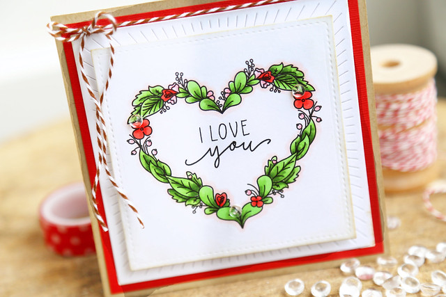 I heart you {just ME digital stamps}