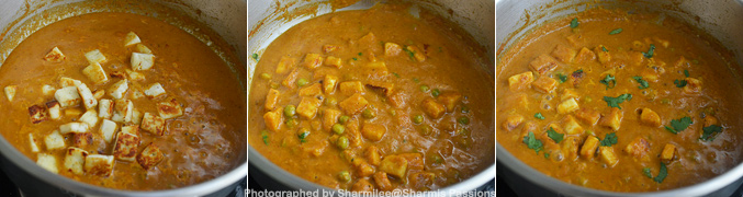 How to make mutter paneer - Step5
