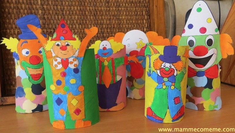 Carnevale: pagliacci