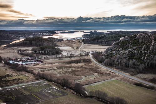 sverige swe västragötaland kkv bovallstrand flygfoto bräcke gerlesborg bottna