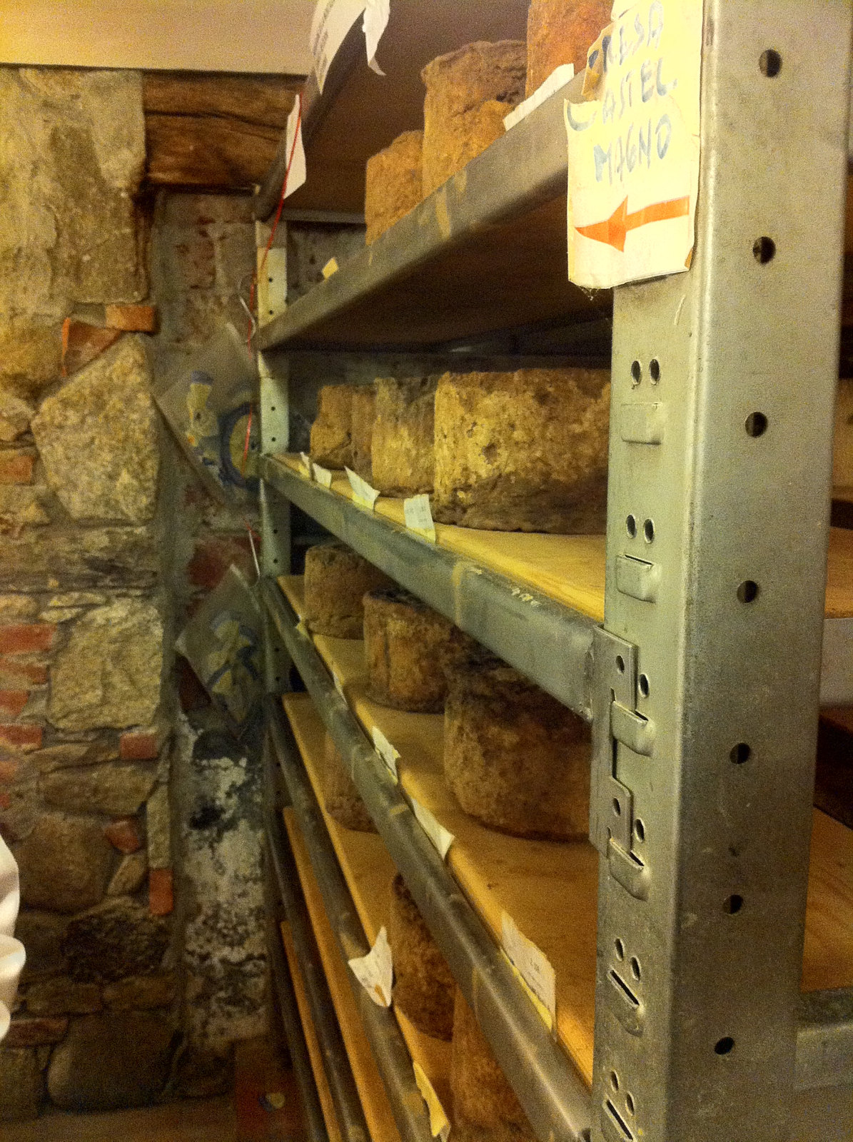 A Trip to a Cheese Cave, Arona, Piedmont, Italy 10