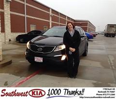 #HappyBirthday to Elizabeth from Jennifer Denson at Southwest KIA Rockwall!