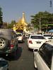 Anfahrt Shwedagon