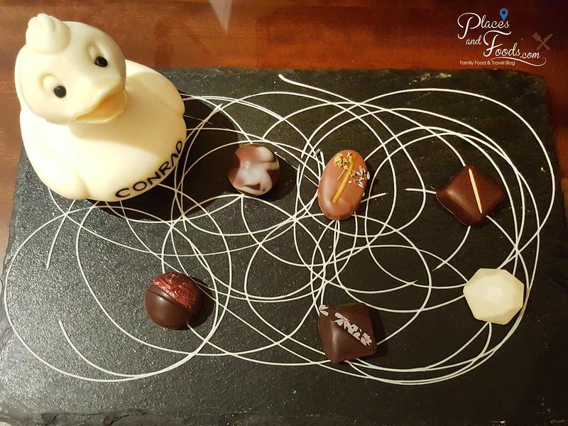conrad macao welcome chocolate