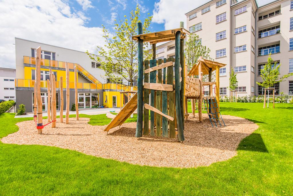 Baustelle Kindertagesstätte Salamander-Areal