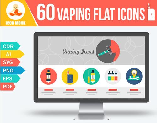 60 Vaping Icons