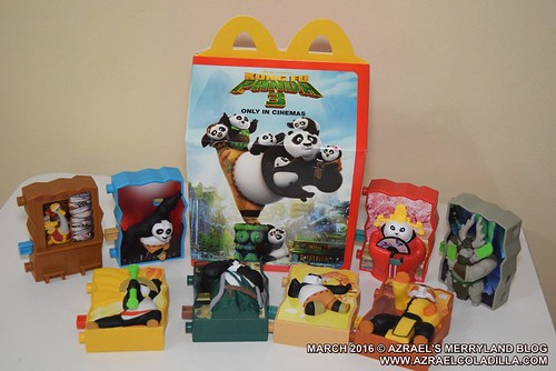 McDonalds Happy Meal - Kung Fu Panda 3