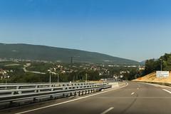 Autoroute A40 - Bellegarde (France)