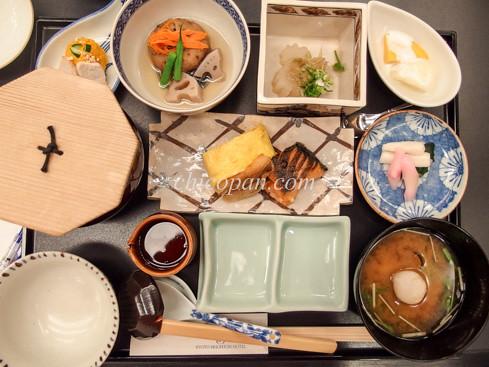 京都ブライトンホテル朝食あさげ写真画像
