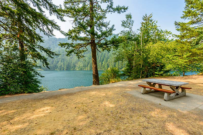 Lake Of The Woods near Hope, east of Vancouver in British Columbia, Canada.