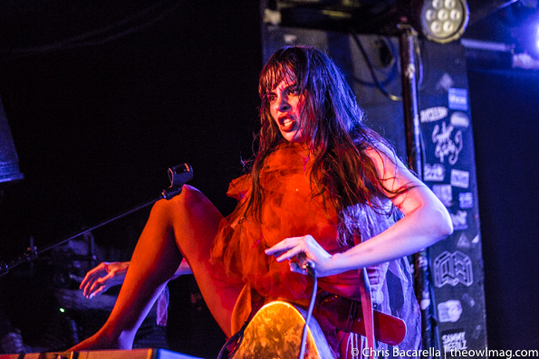 Le Butcherettes @ Webster Hall, NYC 3.7.16-8