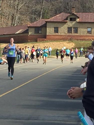 Asheville Half Marathon 1