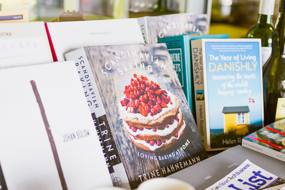 Danish recipe books at Snaps & Rye
