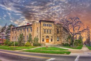 Oberlin Ohio  ~ Oberlin Colllege ~ Severance Hall ~ Historic