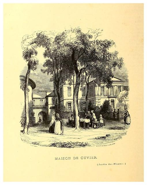 009-Casa de Couvier-Le Jardin des plantes description et murs des mammifères..1842-Pierre Boitard
