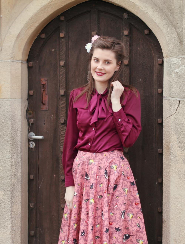 lindy bop vintage-style outfit via www.lovebirdsvintage.co.uk