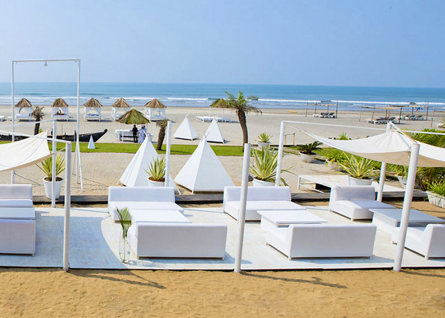 Northend Beach Party and Cabanas Goa