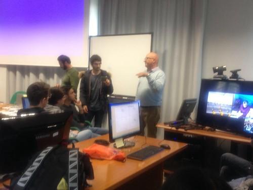 Video chat con il CERN  liceo Alpi Rutigliano (1)