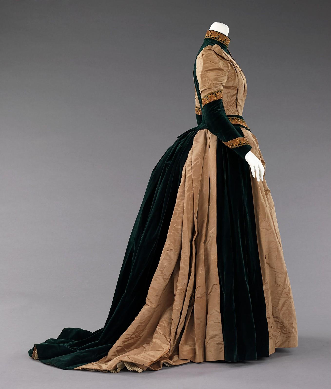 1885. American. Silk. metmuseum