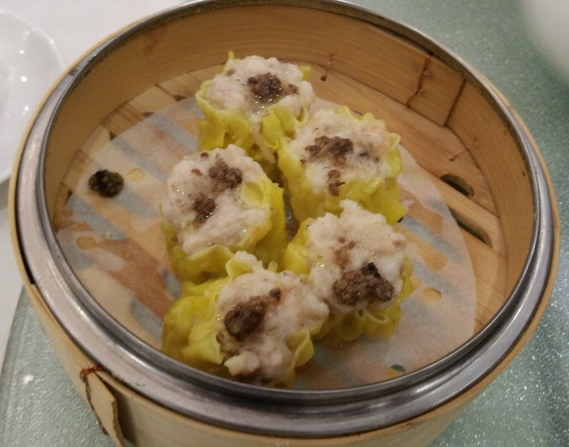 2016-Mar-26 Chef Tony - Black truffle, pork and shrimp dumplings