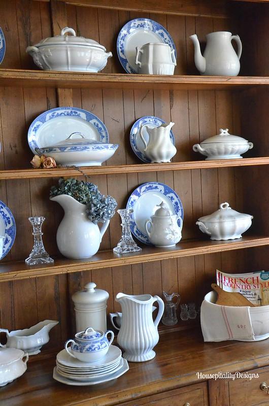 Blue and White China/Ironstone - Housepitality Designs