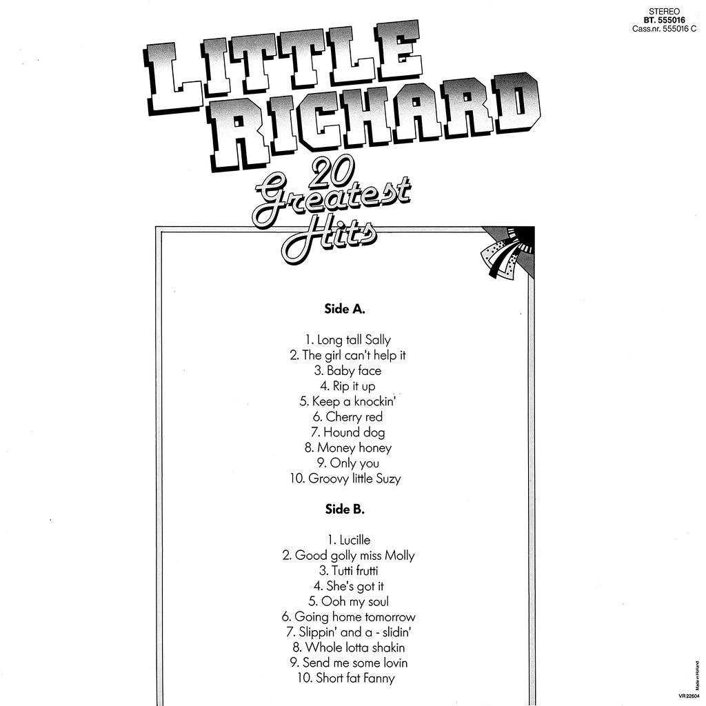 Little Richard - 20 Greatest Hits