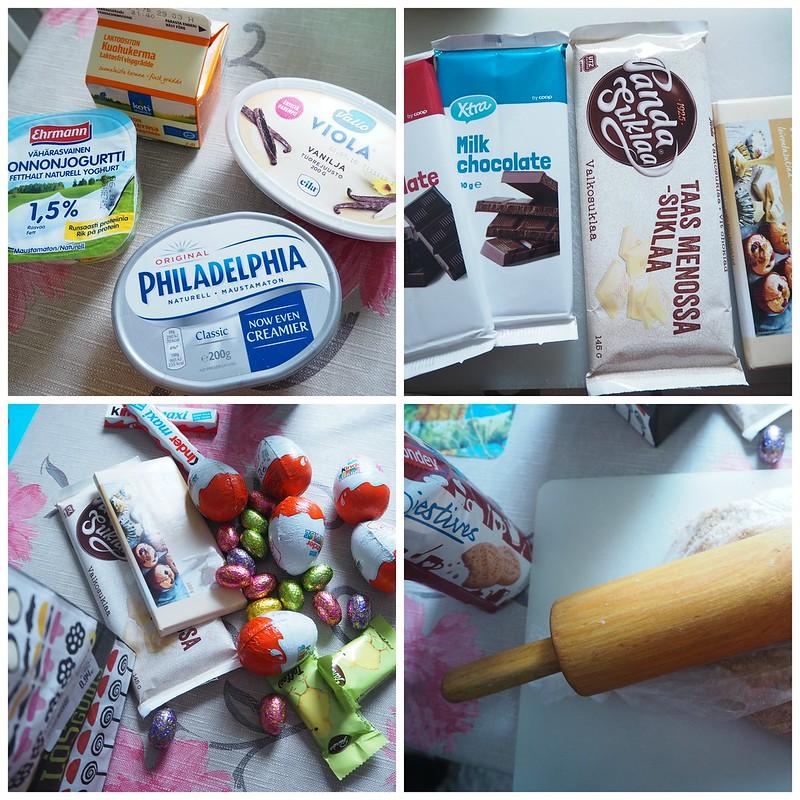 kinderjuustokakku1,kinderjuustokakku14, kinder kakku, kinder cake, kinderjuustokakku, kinder cheese cake, recipe, resepti, miten tehdä, koristeet, tiput, chicks, decoration, baking the cake, dessert, jälkiruoka, ruoka, food, easter, pääsiäinen, ohje, kinder, suklaa, valkosuklaa, maitosuklaa, white chocolate, milk chocolate, cake, kakku, kakkauohje, cake recipe,