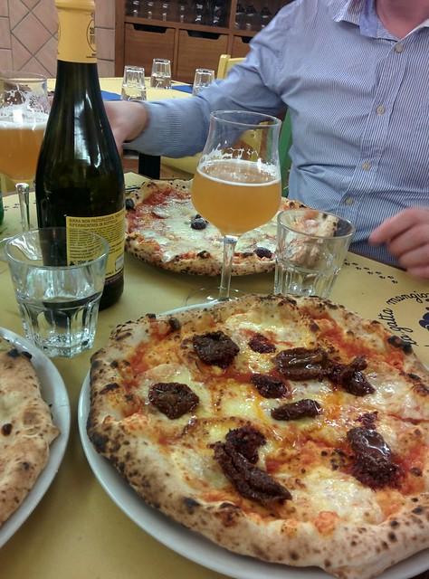 Pizzojen eliittiä Roomassa