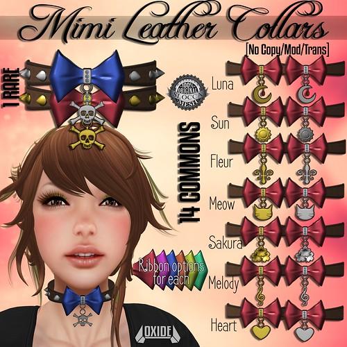 OXIDE Mimi Leather Collar