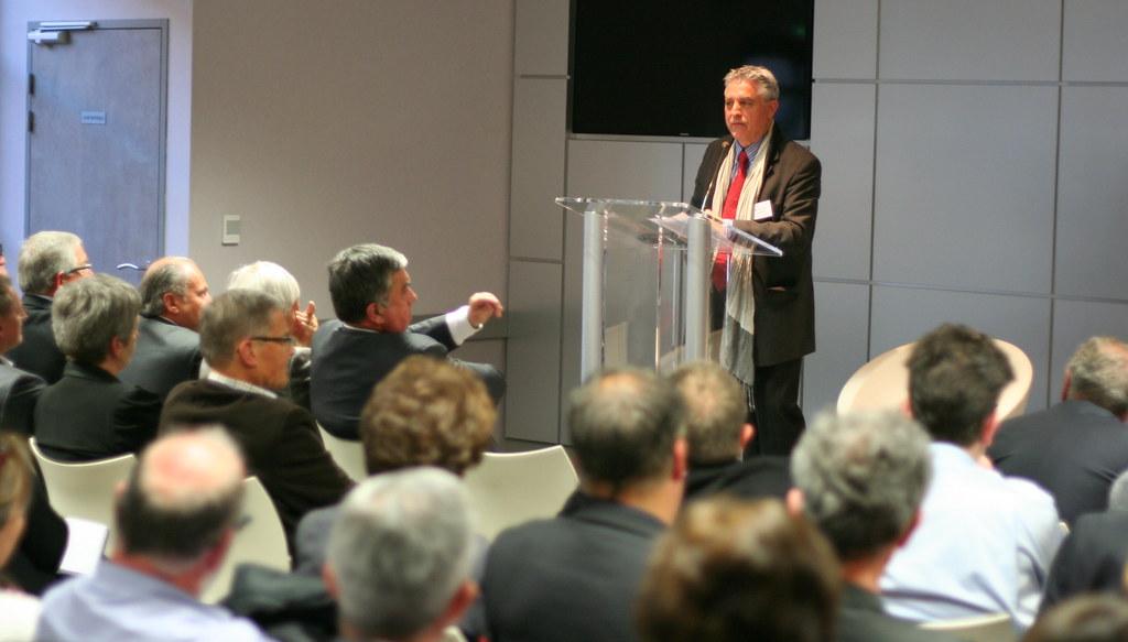 Jean-Jacques PILLOUX (Président UPA Rhône)