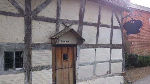 King John's House and Tudor Cottage, entrance