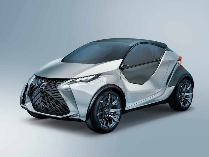 Компактный Lexus LF-SA
