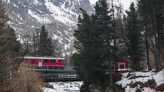 Pociag kolei Rhätische Bahn
