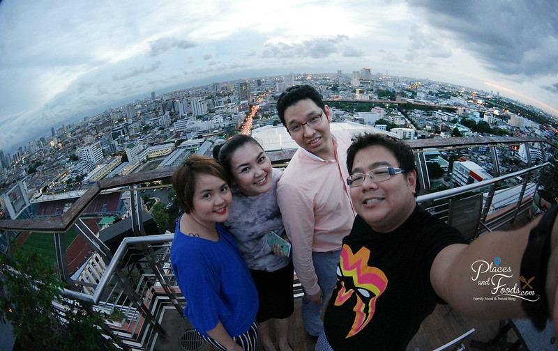 the roof at siam siam hotel fish eye