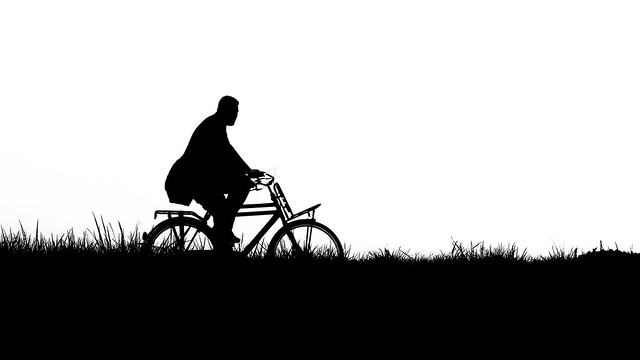 Lonely Cyclist