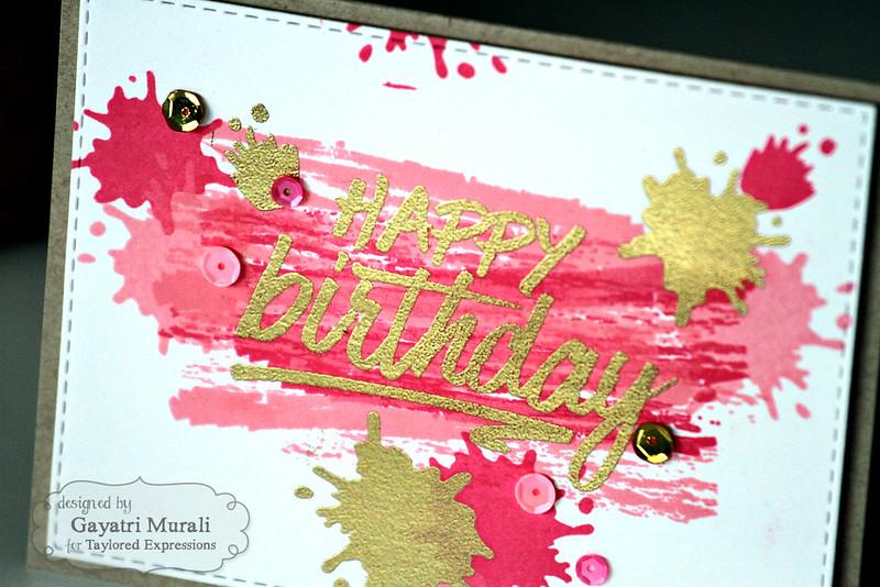 Happy Birthday closeup by Gayatri Murali