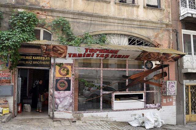 Bagel shop, Beyoglu