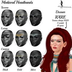 Medieval Headbands