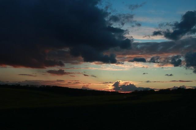 Sunset, near Challock