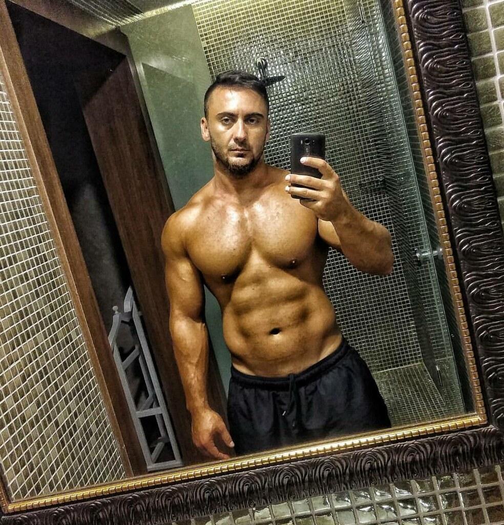 Muscle hunk stud