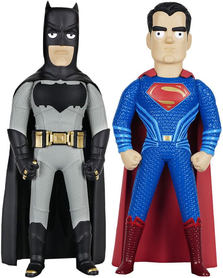 兩大勢力爆笑對決!Vinyl Idolz 《蝙蝠俠對超人:正義曙光》