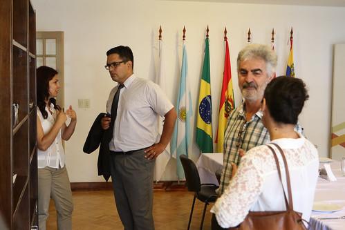El Mercosur Social y el Jurídico tratan de trabajos conjuntos