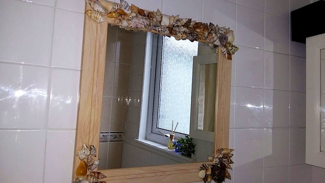 how-to-revamp-your-mirror,Mirror frame decoration, mirror frame diy decoration, square mirror, square mirror diy frame decoration,DIY Square mirror frame shell decorations, Mirror diy, how to revamp a mirror, how to decorate a mirror, mirror decorations, diy mirror frame decorations, mirror frame decoration, square mirror