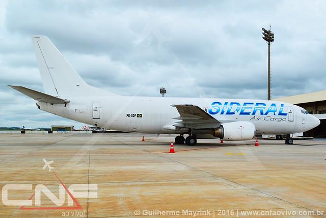 Boeing 737-300F Sideral Air Cargo PR-SDF