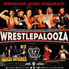 @itsdjsnuggles #wrestlepalooza SOLD OUT @firstavenue @PBR @f1rstwrestling #snugglife