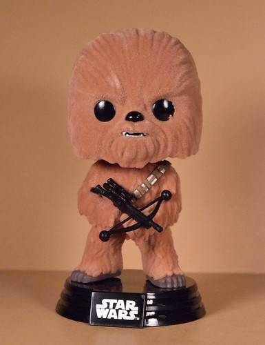 Funko Pop! Chewbacca (flocked) bobble-head (Smuggler's Bounty exclusive)