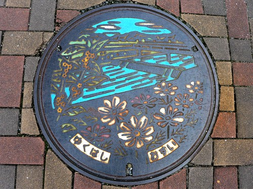 Yukuhashi Fukuoka, manhole cover (福岡県行橋市のマンホール)